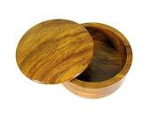Shave Nation Wood Bowl Oak/Brown