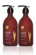 Luseta Tea Tree & Argan Oil Shampoo & Conditioner Set 2x500ml