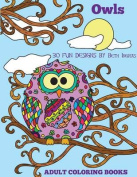 Adult Coloring Books: Owls