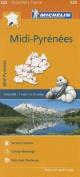 Midi-Pyrenees Map 525