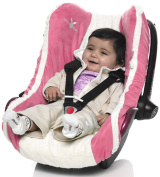 Wallaboo Car Seat Cover for Baby Car Seat Group 0 - Pink