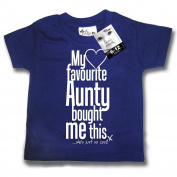 Dirty Fingers, My Favourite Aunty bought me this, Baby T-shirt
