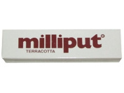 MILLIPUT EPOXY PUTTY 2-STICK PACK 113g (120ml) TERRACOTTA