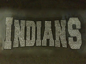 Indians Mascot Rhinestone Transfer Iron on