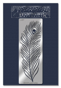 Stampedous Dreamweaver Metal Stencil, Peacock Feather