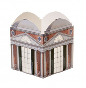 Architectural Watercolours Table Lantern, Mr. Jefferson's Folly, 15cm x 20cm