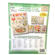 1009 Berries and Fruit One Stroke Reusable Painting Teaching Guide Worksheet Pack