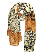 1 X Cool88 2014 New Fashion Women Fashion Leopard Pattern Animal Print Shawl Scarf Wrap