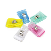 Foxnovo 50pcs Wonder Clips, Paper Clips, Blinder Clips, Multi-purpose Clips