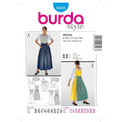 Burda Sewing pattern, 8448 - Dress