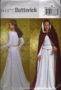 Butterick Pattern B4377 for Misses' Cape & Dress, Size EE