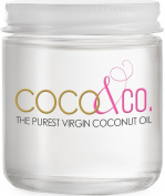 Coconut Oil for Hair & Skin By COCO & CO. Beauty Grade 100% RAW