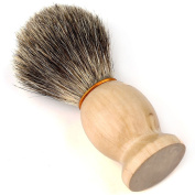 Hard Wood Handle Shaving Brush Perfect Shave Barber Tool