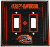 Harley - Double Lightswitch Cover