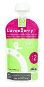 Oh Baby Foods Organic Baby Food Textured Puree Level 2, Lavenberry - 120ml