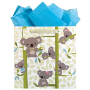 The Gift Wrap Company Medium Square Gift Bags, Jumpin Joeys