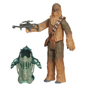 Star Wars The Force Awakens 9.5cm Figure Forest Mission Armour Chewbacca