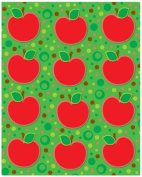 Carson Dellosa Apples Shape Stickers
