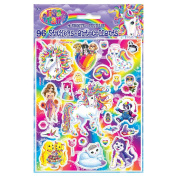 Rainbow Majesty by Lisa Frank Sticker Sheets, 4ct