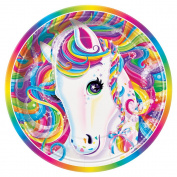 Rainbow Majesty by Lisa Frank Dessert Plates, 8ct