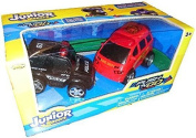 Junior Racers Push N Go Police Car and Fire Truck