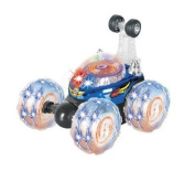 LIB101® Invincible Tornado - Remote Control RC Turbo Twister Stunt Car with Lights and Sound
