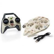 Air Hogs Star Wars Remote Control Ultimate Millennium Falcon Quad
