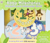 Baby Milestones Stickers and Keepsake Book