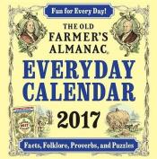 The Old Farmer's Almanac 2017 Everyday Calendar