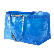 Ikea - 10x Frakta Blue Large Bags - Ideal For Outdoor Use & Storage