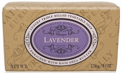 Naturally European Triple Milled Lavender Wrapped Soap Bar 230g