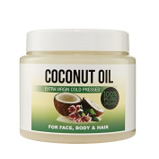 Cold Pressed Extra Virgin Coconut Oil 100% Organic 500ml