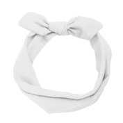 MultiWare Rabbit Ear Hair Bands Women Headbands White