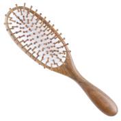 Breezelike Professional Big Size Sandalwood Hair Brush