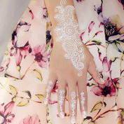 Flash White Lace Henna Tattoos, white for Hand and Finger temporary Tattoo W336 - LK Trend & Style