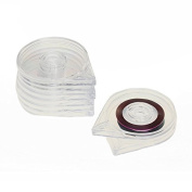 Hrhyme 5 Pieces Box Holder for Nail Art Striping Tape Line