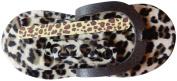 Leopard spa pedi slippers kit