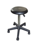 Groom Professional Black Adjustable Salon Stool