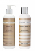For All My Eternity Natural 10 Self Tan Lotion with certified organic aloe vera, cocoa butter and vitamins A & E for a perfect fake tan PLUS Tan Saving Shower Gel to extend the life of your self tan on arms legs face and body