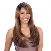 FreeTress Equal Lace Deep Diagonal Part Lace Front Wig Shake-N-Go Wig - APPLE BLOSSOM