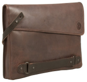 Uberbag Insignia Men's Brown Leather Clutch Bag