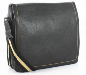 Messenger Bag | High quality Faux Leather | Black | Leather Laptop Bag | Student Bag | Business & Casual