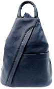 Handbag Bliss Beautiful Italian Soft Leather Rucksack Backpack and Shoulder Bag