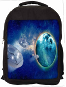 Snoogg Digitally Printed 39cm Laptop Backpack Casual School Backpack