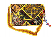 Banjara Envelope Leather Clutch