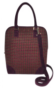 Tweed Handbag Fairtrade by Earth Squared Marnie Berry