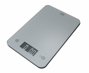American Weigh Scales ONYX-5K-SL Slim Design Kitchen Scale, 5kg by 5ml, Silver