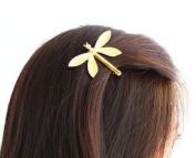 Cuhair(tm) 1pc Wedding Princess Gold Metal Dragonfly Hair Clip Hair Pin Accessories for Women Girl Baby
