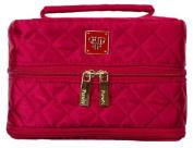 Pursen Tiara Jewellery Organiser, Large/Vacationer, Quilted Elegance Red