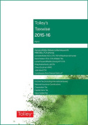 Tolley's Taxwise I: 2015-16